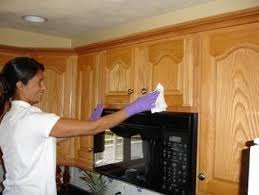 Kitchen Cabinetry Cleaning